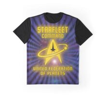Starfleet Command United Federation Of Planets Graphic T-Shirt