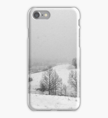 Snowstorm January 2014 iPhone Case/Skin
