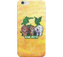 Lions Tiger and Bear Oh My iPhone Case/Skin