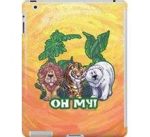 Lions Tiger and Bear Oh My iPad Case/Skin