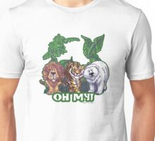 Lions Tiger and Bear Oh My Unisex T-Shirt