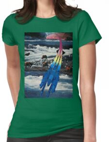Grizzly Space Womens Fitted T-Shirt