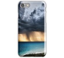 Stormy sunsets at Jindalee Beach iPhone Case/Skin