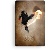 Get Bent :: Fire Metal Print