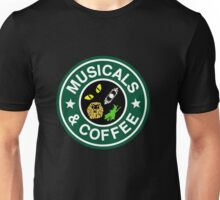 Musicals And Coffee Unisex T-Shirt