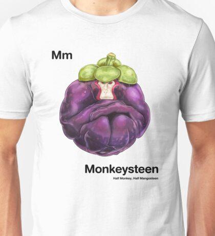 Mm - Monkeysteen // Half Monkey, Half Mangosteen Unisex T-Shirt