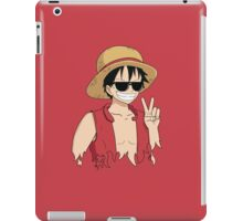 "ONE PIECE: ""The Cool Captain"" Luffy In Shades iPad Case/Skin"