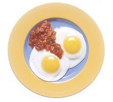 Eggs and Salsa  by BravuraMedia