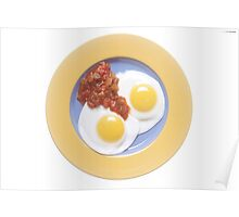 Eggs and Salsa  Poster