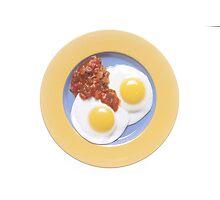 Eggs and Salsa  Photographic Print