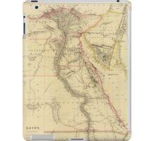 Vintage Map of Egypt (1832)  iPad Case/Skin