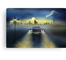 Out of the city Canvas Print