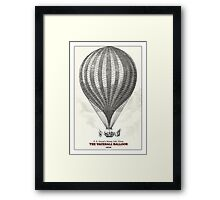 The Vauxhall balloon (1850) Framed Print