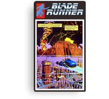 Blade Runner Comics Canvas Print