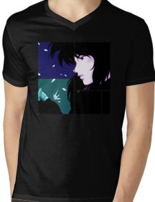Motoko Anime Manga Shirt Mens V-Neck T-Shirt