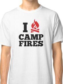 I Love Campfires Classic T-Shirt