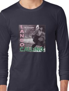 L Calling (vinyl square version) Long Sleeve T-Shirt