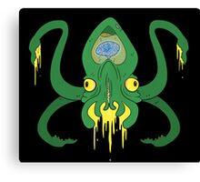 The Brain Squid Cometh Canvas Print