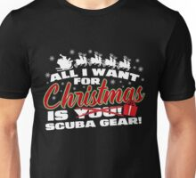 Scuba Gear For Christmas Unisex T-Shirt