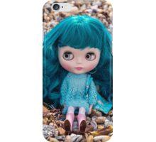 Amelia on the beach iPhone Case/Skin