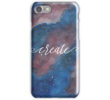 Create // Nebula iPhone Case/Skin