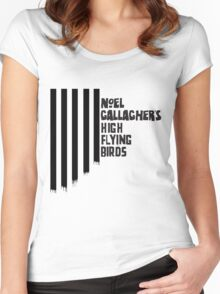 Noel Gallagher's High Flying Birds Fan Gifts & Merchandise Women's Fitted Scoop T-Shirt