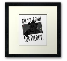 Are You Ready? Framed Print