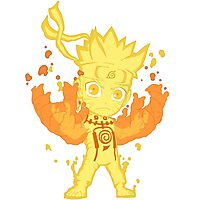 Chibi Naruto Rikudou Photographic Print