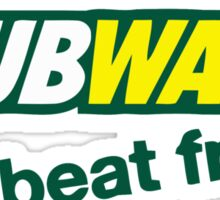 DUBWAY - beat fresh. Sticker