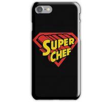 Chef - Super Chef iPhone Case/Skin