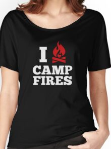I Love Campfires Women's Relaxed Fit T-Shirt
