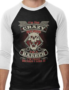 Barber Hot Collection 2016 Men's Baseball ¾ T-Shirt