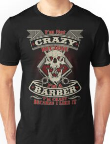 Barber Hot Collection 2016 Unisex T-Shirt