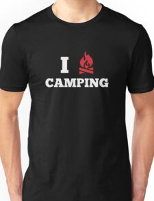 I Love Camping Unisex T-Shirt