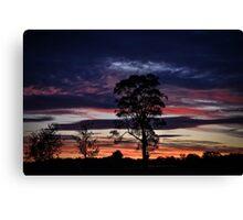 Silverdale Sunset (7), NSW, Australia Canvas Print