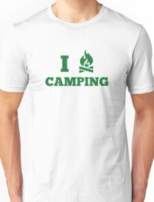I Love Camping Unisex T-Shirt