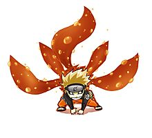Chibi Kyuubi Naruto Photographic Print
