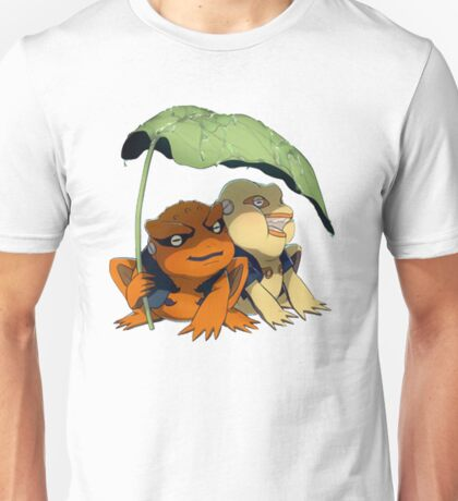 Chibi Gamakichi and Gamatatsu Unisex T-Shirt