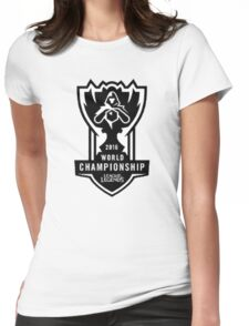 WORLD CHAMPIONSHIP 2016 - LEAGUE OF LEGENDS, BEST SELLING, TOP SELLING, CHEAP HIGH QUALITY! Womens Fitted T-Shirt