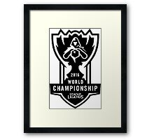 WORLD CHAMPIONSHIP 2016 - LEAGUE OF LEGENDS, BEST SELLING, TOP SELLING, CHEAP HIGH QUALITY! Framed Print