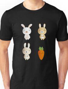 Bunnies and carrot Unisex T-Shirt