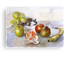 FRUIT AND FRUIT Canvas Print