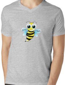 Be strong - cute bee animal cartoon Mens V-Neck T-Shirt