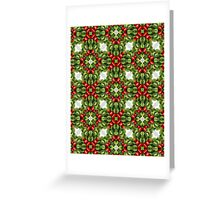 Christmas Vegetables  Greeting Card