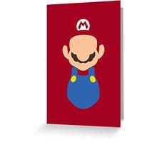 It's Marioh Greeting Card