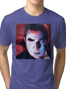 "Classic Movie Monsters ""DRACULA"" Tri-blend T-Shirt"