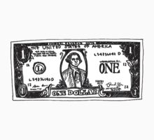 One Dollar US Baby Tee