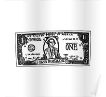 One Dollar US Poster