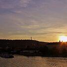 Vltava Sunset by Astrid Ewing Photography