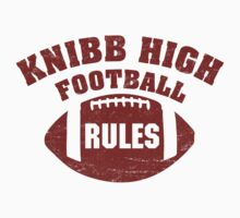 Knibb High Football One Piece - Short Sleeve